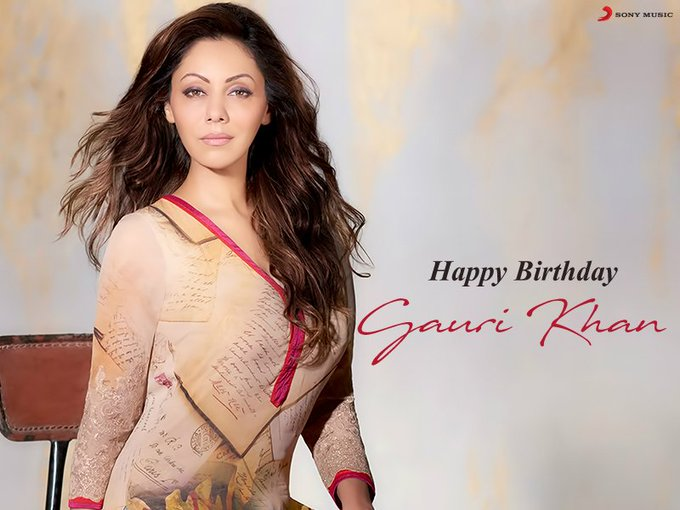 Here\s wishing the FIRST LADY of BOLLYWOOD, Queen Gauri Khan a very Happy Birthday.