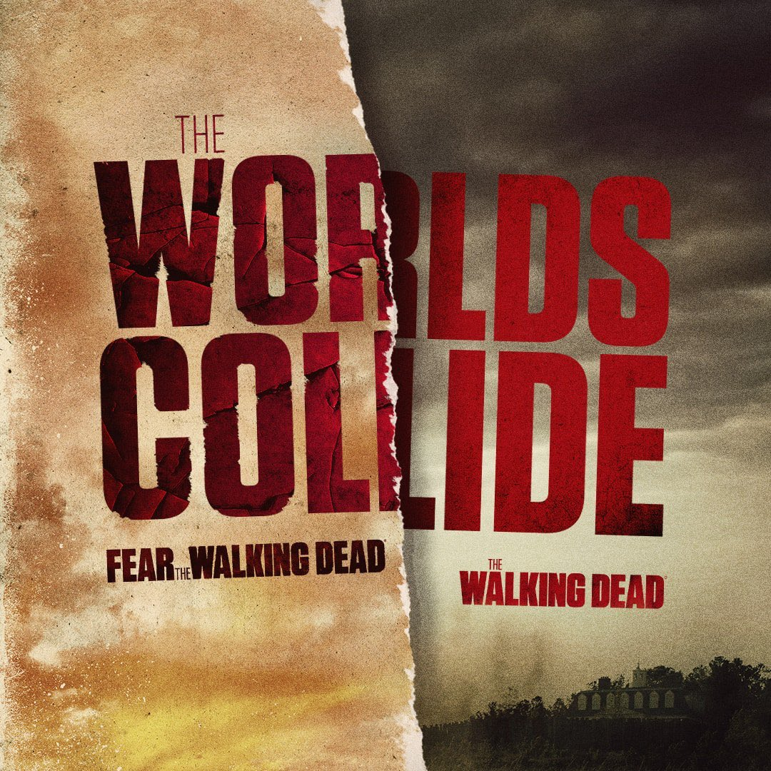 After years of rumors, we can finally confirm #TheWalkingDead will crossover with #FearTWD sometime next year 😱