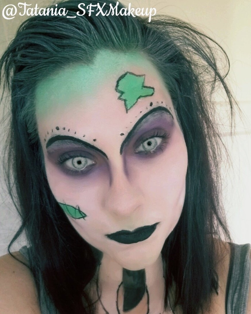 Day 6 of Halloween. Tan does BettleJuice #TanDoes  #Halloween #SFX #Makeup #Beetlejuice<br>http://pic.twitter.com/eND7J0CJ7z