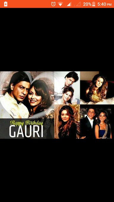 Happy birthday Gauri Khan.