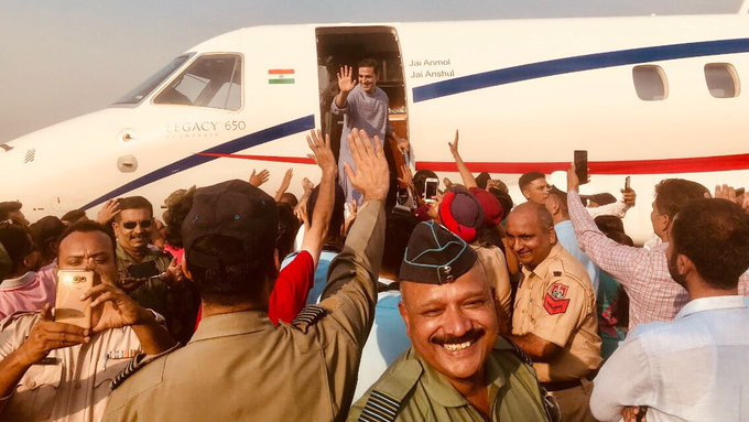 Another fantastic schedule of #Gold ends in Patiala.So much love and warmth literally till the point of taking off...nothing but grateful🙏🏻 https://t.co/lILC4arIKm
