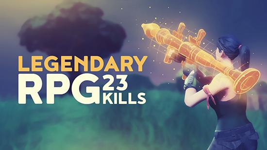 Dakotaz On Twitter Legendary Rpg 23 Kill Game Fortnite Battle