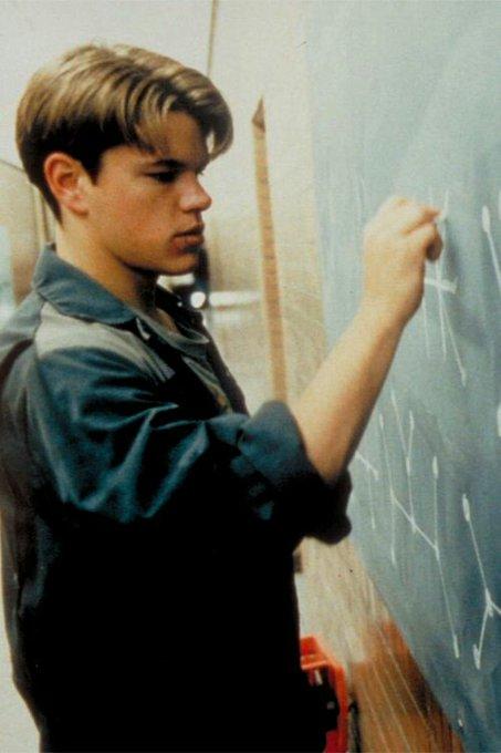 Happy Birthday, Matt Damon, born October 8th, 1970, in Cambridge, Massachusetts.