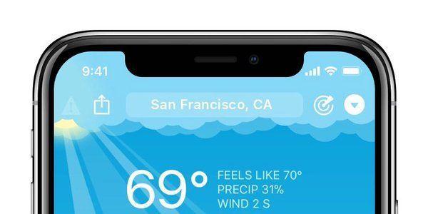 怎么为 iPhone X 的刘海/缺口做 UI 设计?目前还没看到什么解决横屏刘海的好方法 #设计参考 // UI Design for iPhone X: Top Elements and the Notch https://t.co/XD4wRi2NDf https://t.co/nHblALJGwJ 1