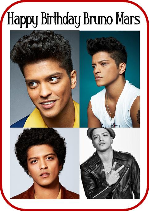 Happy Birthday Bruno Mars