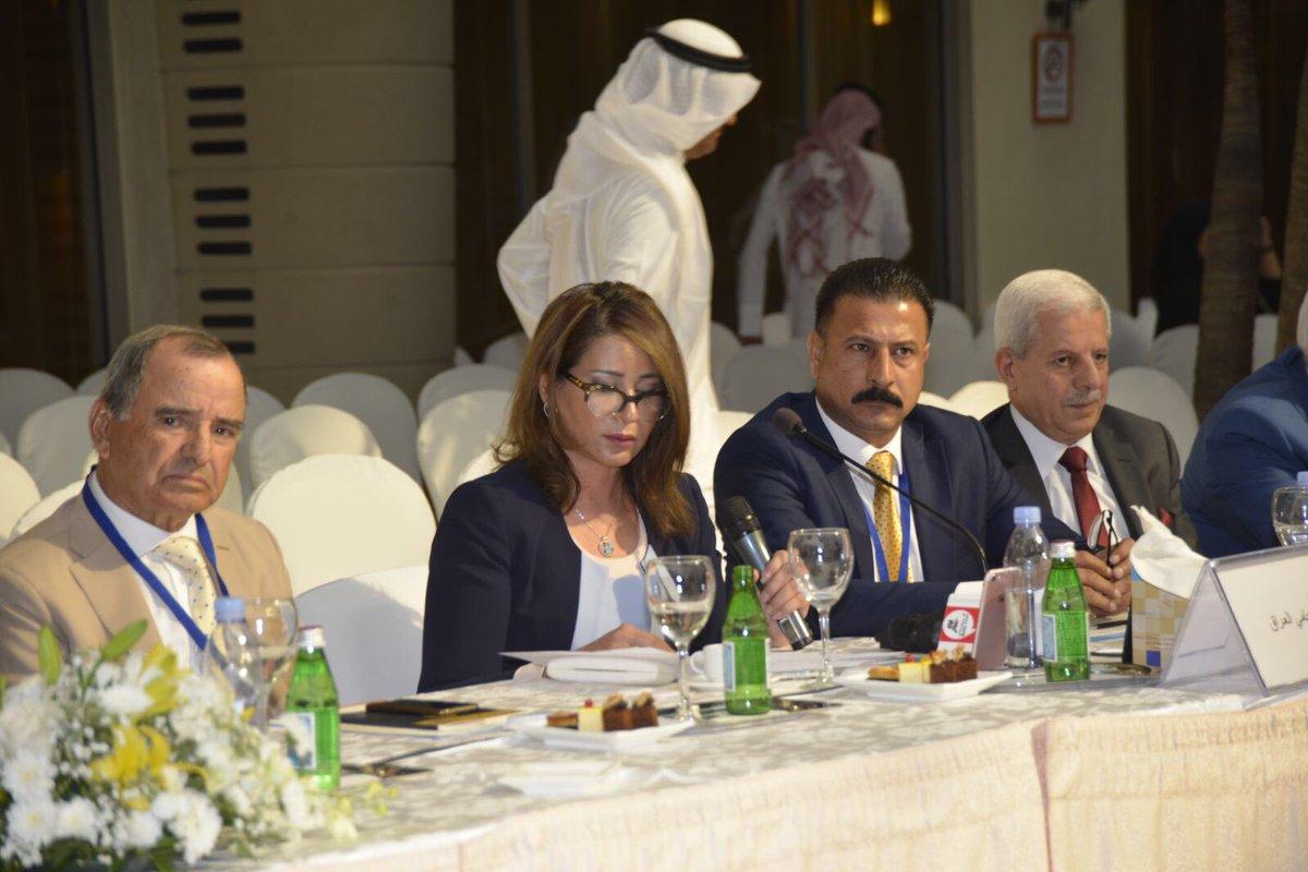 احلام اللامي نقيبة المحامين العراقيين ومشاركتها في المؤتمرpic.twitter.com/d50ai3jXwh