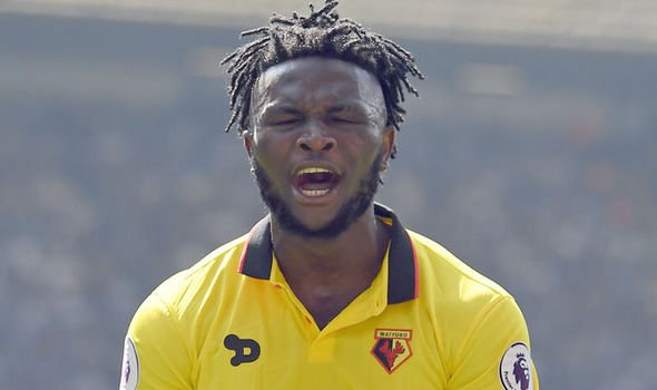 A Nigerian international, Mr Isaac Success was arrested by the UK police after row with prostitutes whom he paid £2,000 in hotel orgy gone wrong.