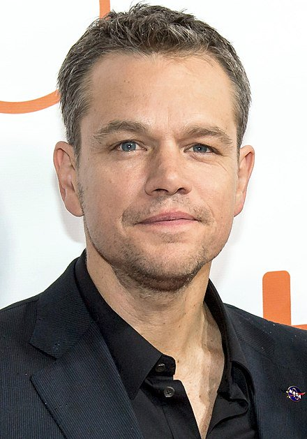 Happy birthday Matt Damon (b. 1970); actor, philanthropist and human rights activist