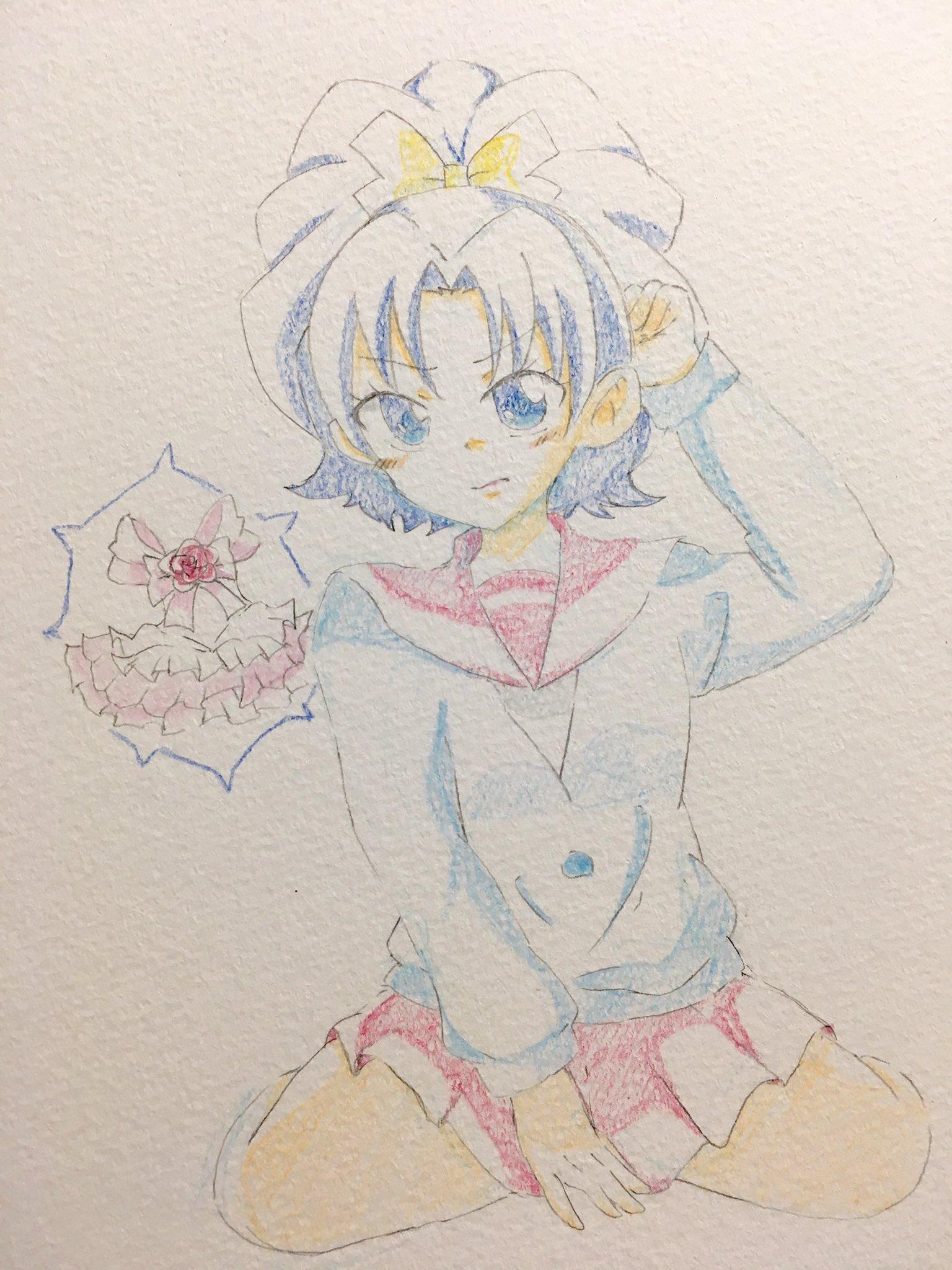 ちぇろん@お題箱 (@cheron_0528)さんのイラスト