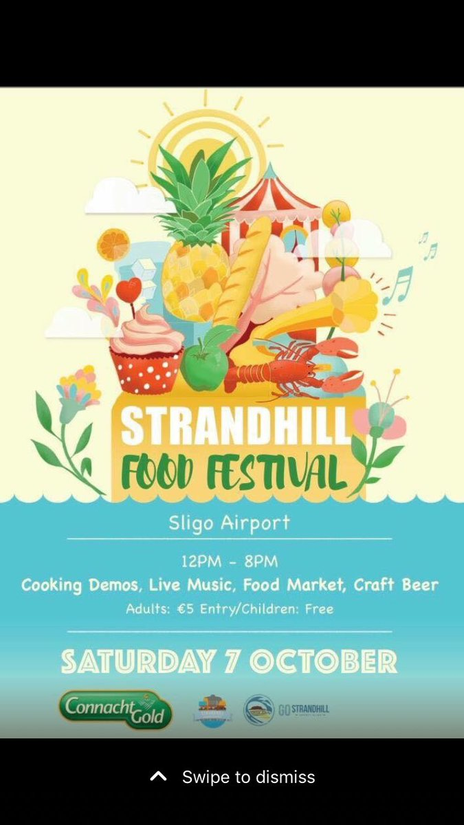 An amazing day was had @StrandhillSPM yesterday. Congrats to Niamh & Allan & all of the team, thanks for having me #StrandhillFoodFest  <br>http://pic.twitter.com/qxCjr381Xm