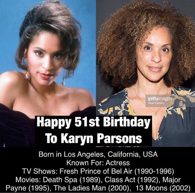 Happy Birthday 51st Karyn Parsons