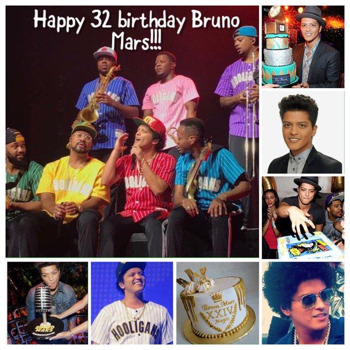 Happy 32 Birthday Bruno Mars!!!