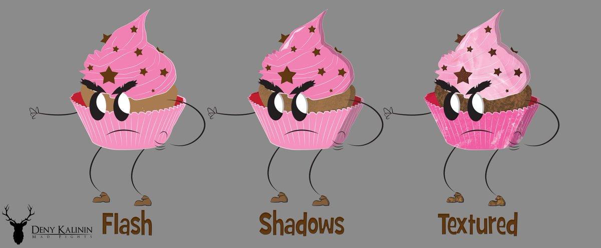 sCream GameDev, Character Design Muffin Warrior #indiegame #indiedev #indieauthor #gamedev #games #characterdesign #IndieGameDev<br>http://pic.twitter.com/7vVuJ5DcQC