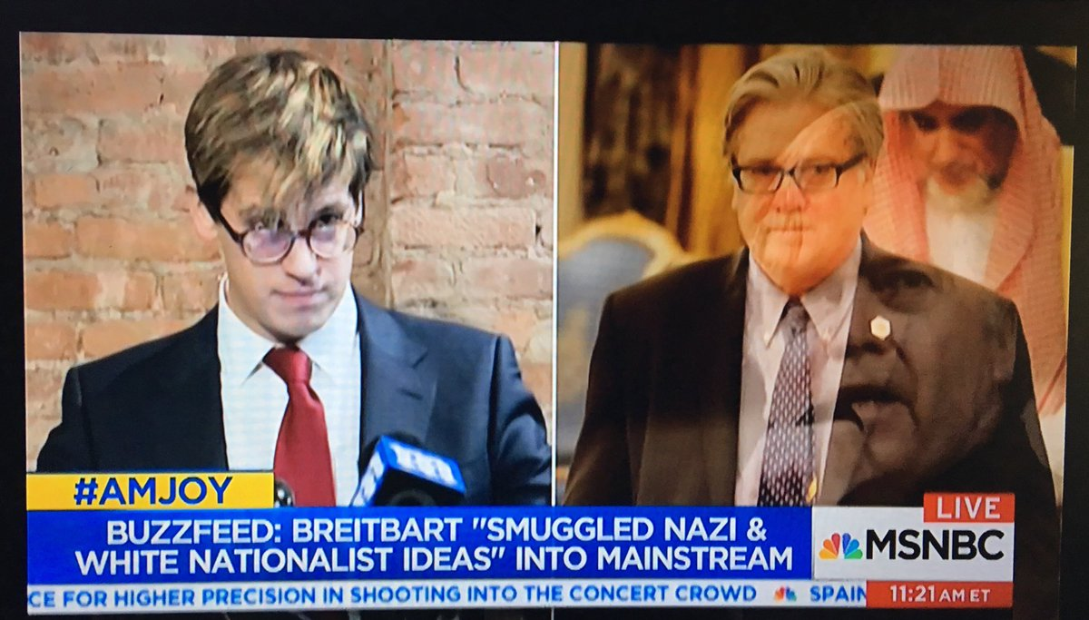 #AMJOY @Buzzfeed article panel discussion on: #Breitbart Mercer #Bannon #Milo Alt Right #Nazi White Nationalists #Trump <br>http://pic.twitter.com/tzUqu26ZnD