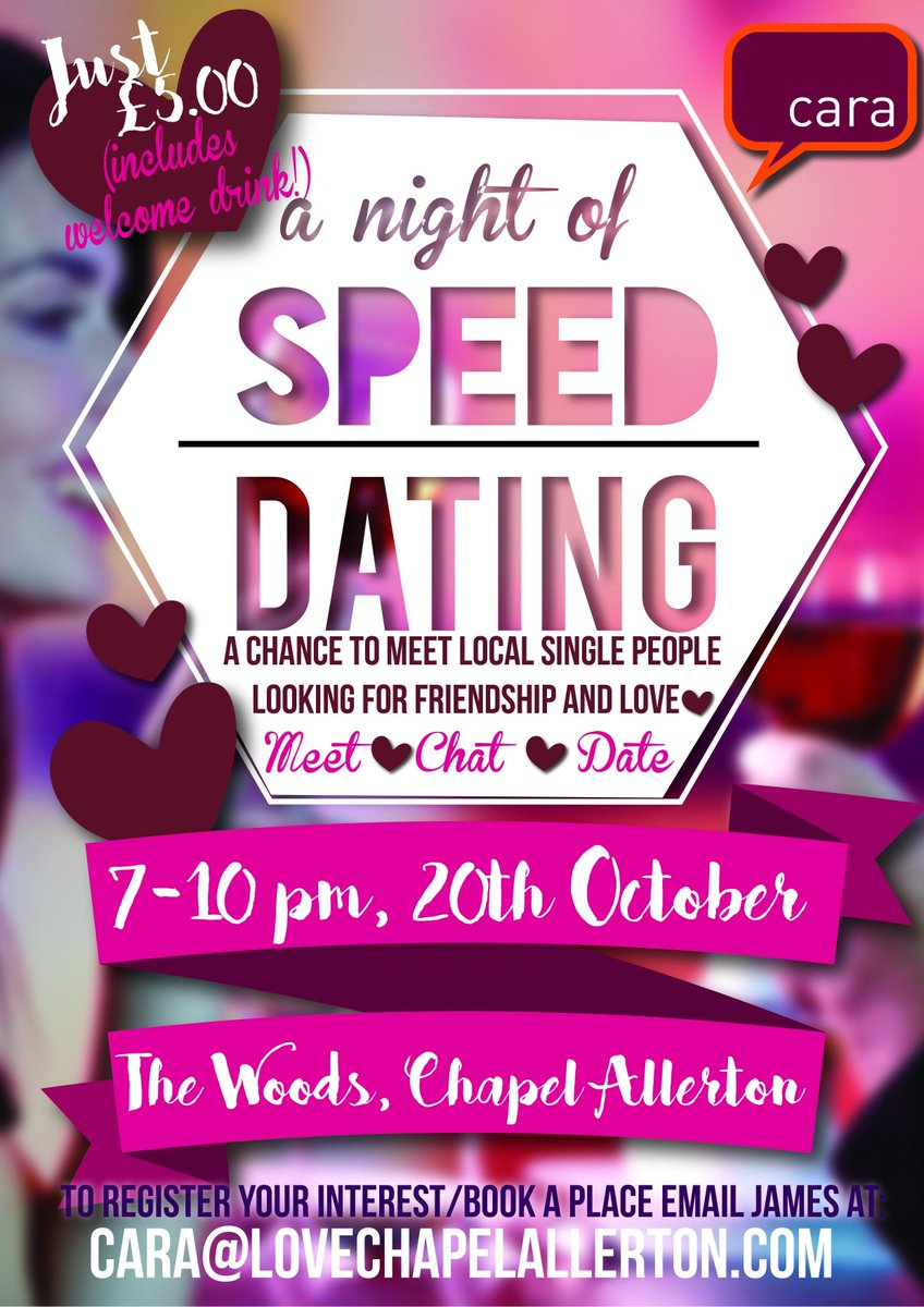 Local singles speed dating