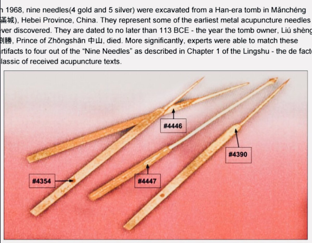 Tree Of Life Acupuncture On Twitter Ancient Chinese Acupuncture Needles Discovered Supporting Acupuncture And Chinesemedicine Medicinal Theories Https T Co Mhuhlhj98y Https T Co Kchhctxlcp