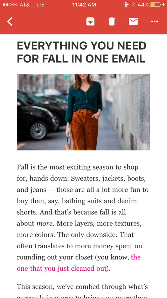 8bf5cc52a8e today's @Racked newsletter is a special Sunday shopping edition! if you're  not already subscribed, check it here: ...