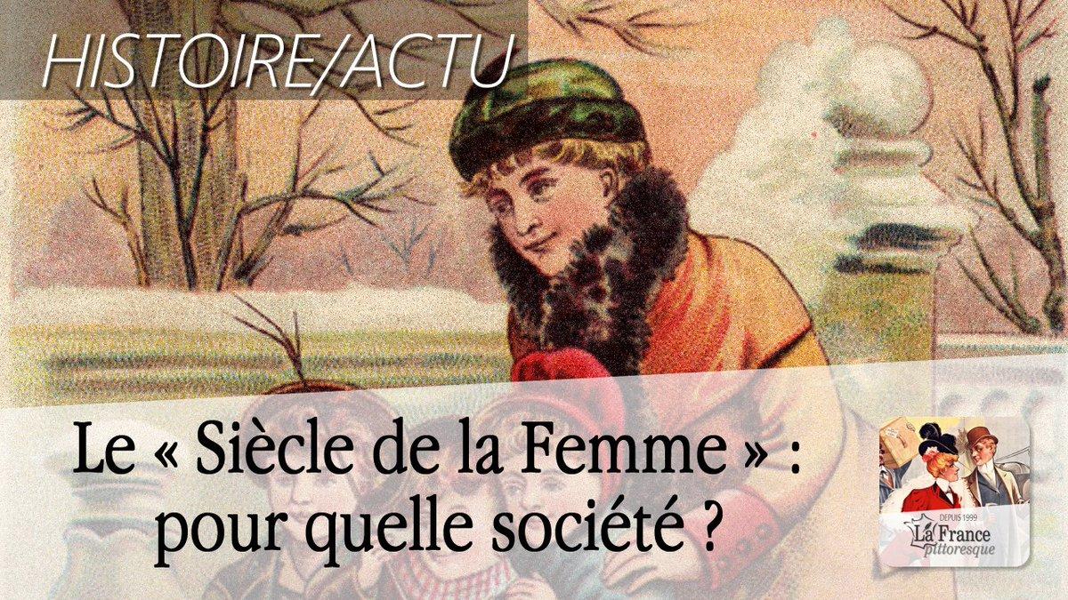"""France Pittoresque on Twitter: """"#XXe #siècle ou le « Siècle de la #Femme »  : pour quelle #société ? ▻ https://t.co/0riwZCO6t5 #Famille #Mariage  #Enfants ..."""