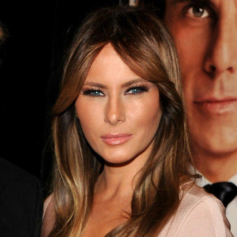 A esposa do Trump tem uma cara de quem j...