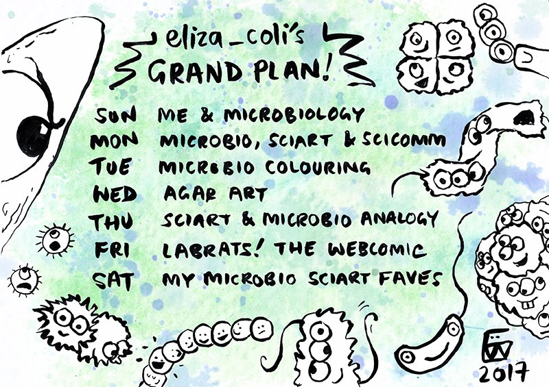 agarart microbiology coloringbook scicomm microscopy httpstcoetznjzec8u - Microbiology Coloring Book
