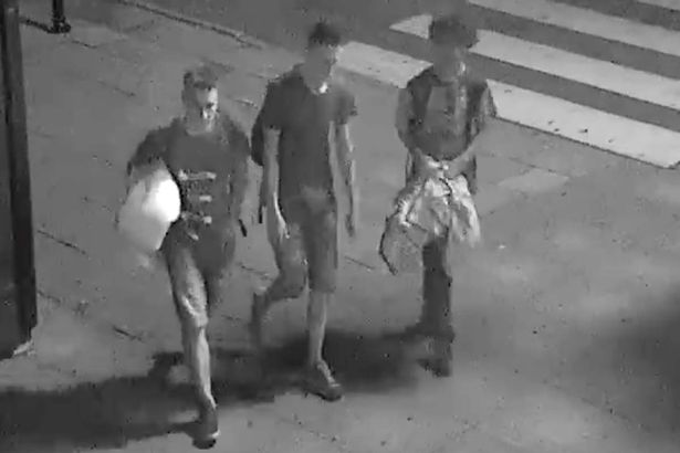 Three teenage boys captured on CCTV giving homeless man a duvet before tucking him in as he sleeps https://t.co/Qx01WAC9bC