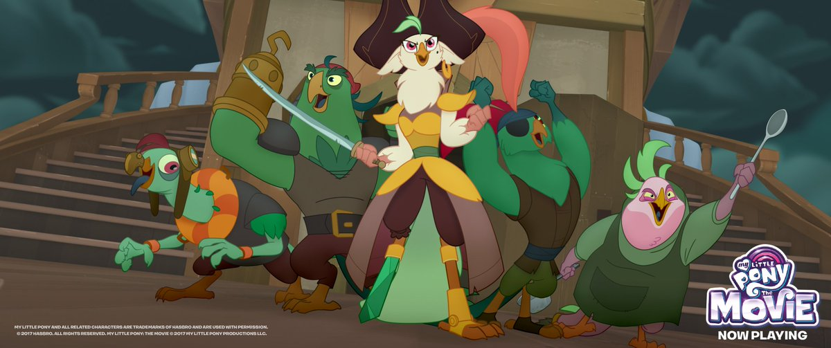 my little pony on twitter this pirate crew is arggg mazing