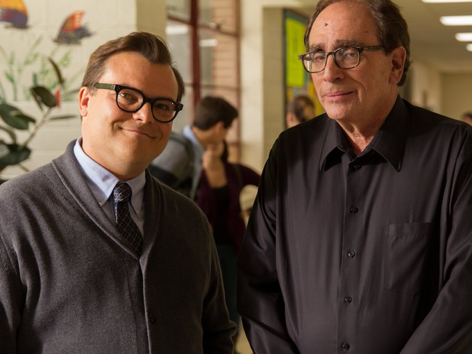 Happy Birthday to R.L. Stine(right) who turns 74 today!