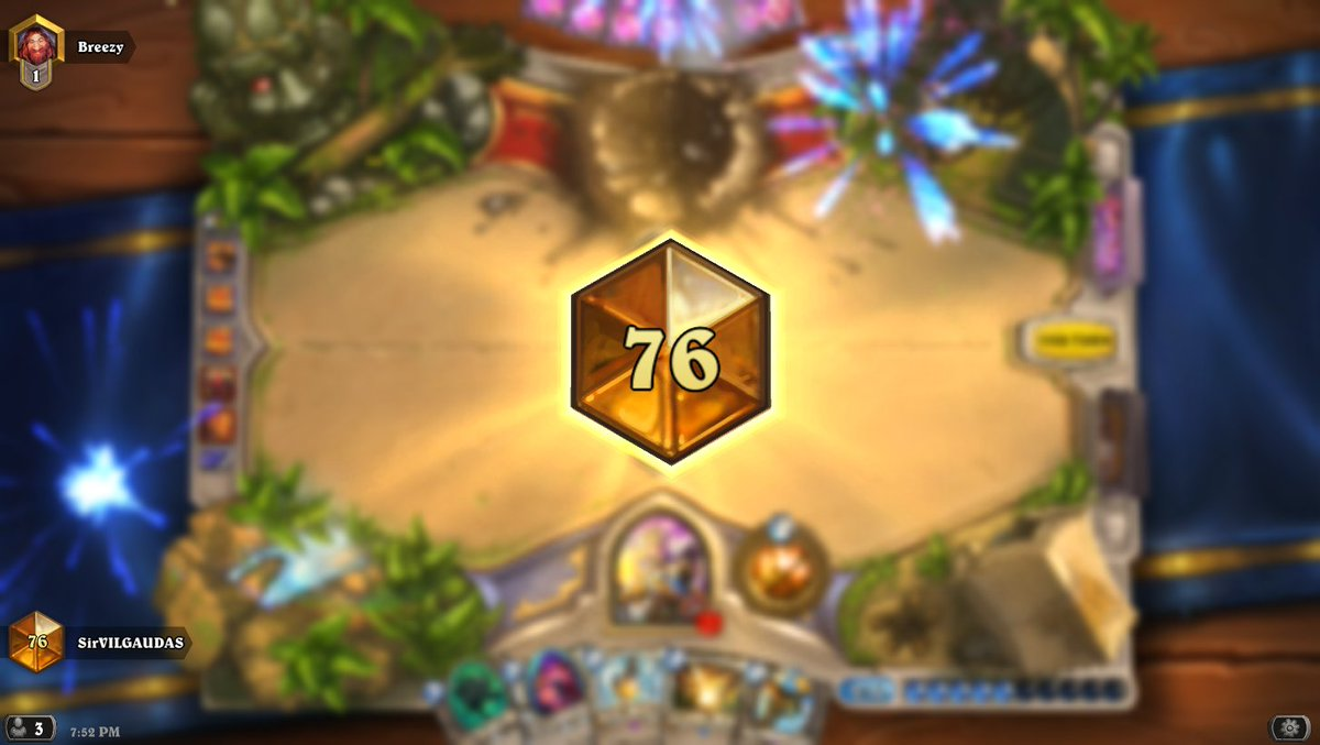 sirvilgaudas on twitter this deck is cheating vs priest d 112 64