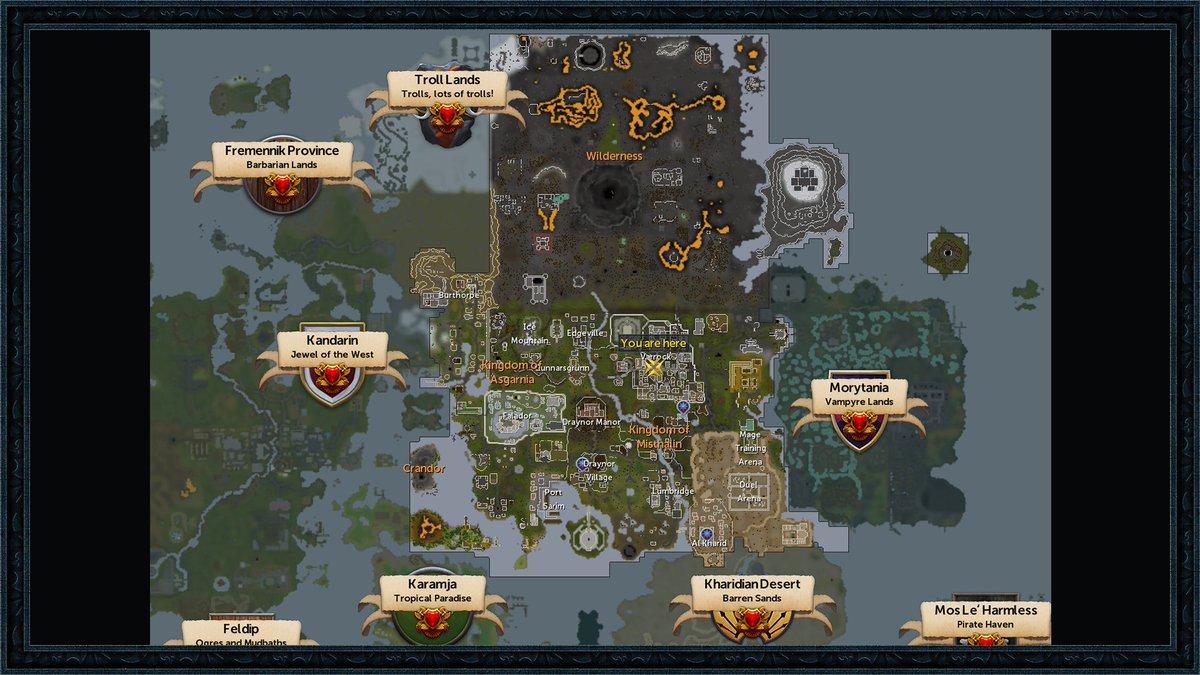 Runescape F2P Quests — Available Space Miami