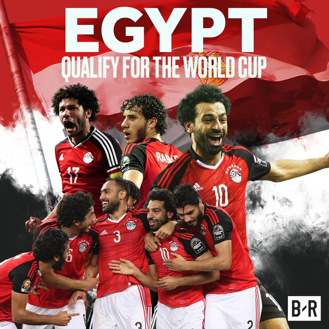Egypt picked the second African ticket, after Nigeria, to the Russian FIFA World Cup, on Sunday after grinding out a 2-1 win over Congo in Alexandria.