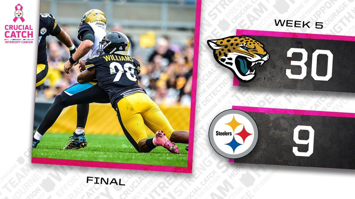 Pittsburgh Steelers On Twitter Final Score