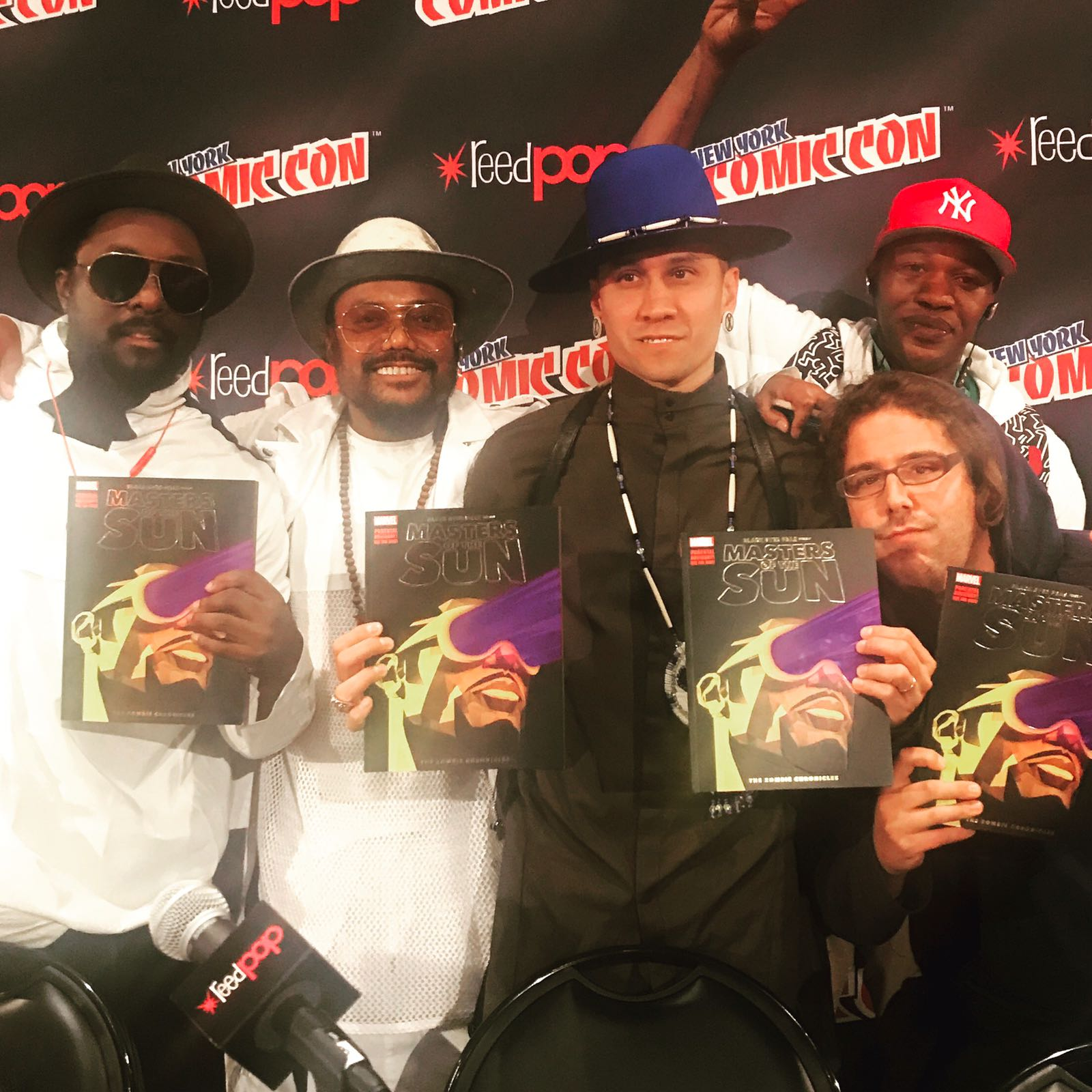 Thank you #NYCC! It was a great day. See you in LA for the @StanLeeComicCon  #MastersOfTheSun @Marvel https://t.co/p5fkS2QAS4