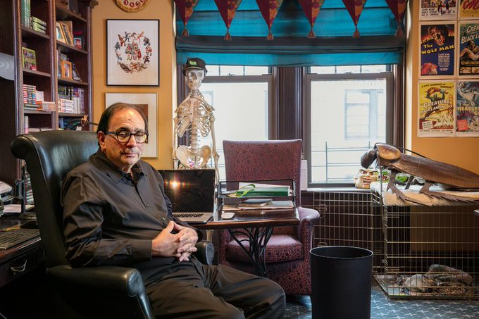 Happy birthday, R.L. Stine! Let\s take a look at the skeletons in his closet: