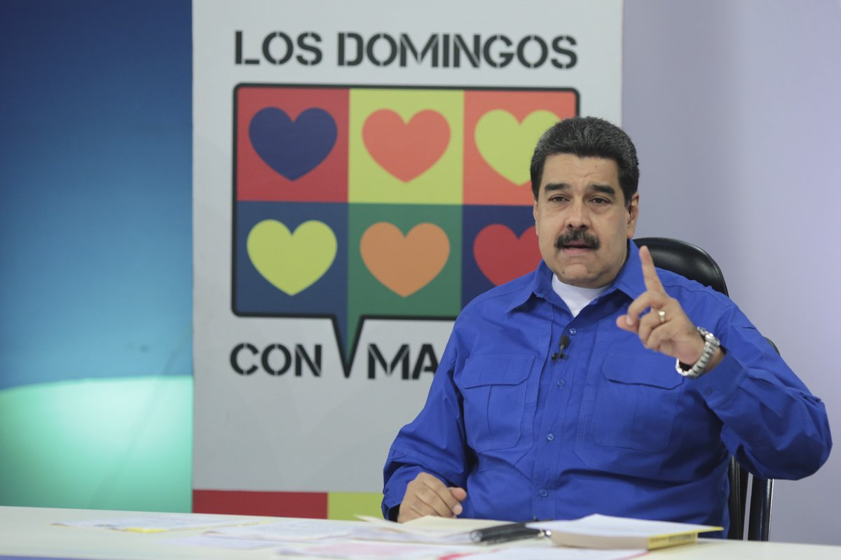 #LoDijoMaduro: Es imposible una dictadura socialista, la única dictadu...