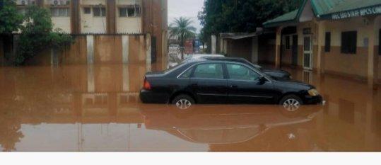 How Ravaging Flood Wreaked Havoc In Edo, Sacked INEC Office