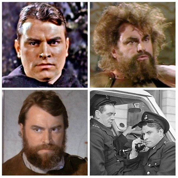 Brian Blessed is 81 today, Happy Birthday Brian