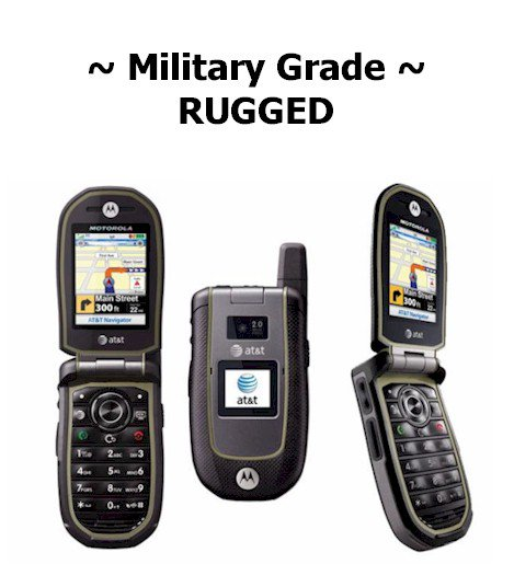 Need A Military Rugged Cell Phone