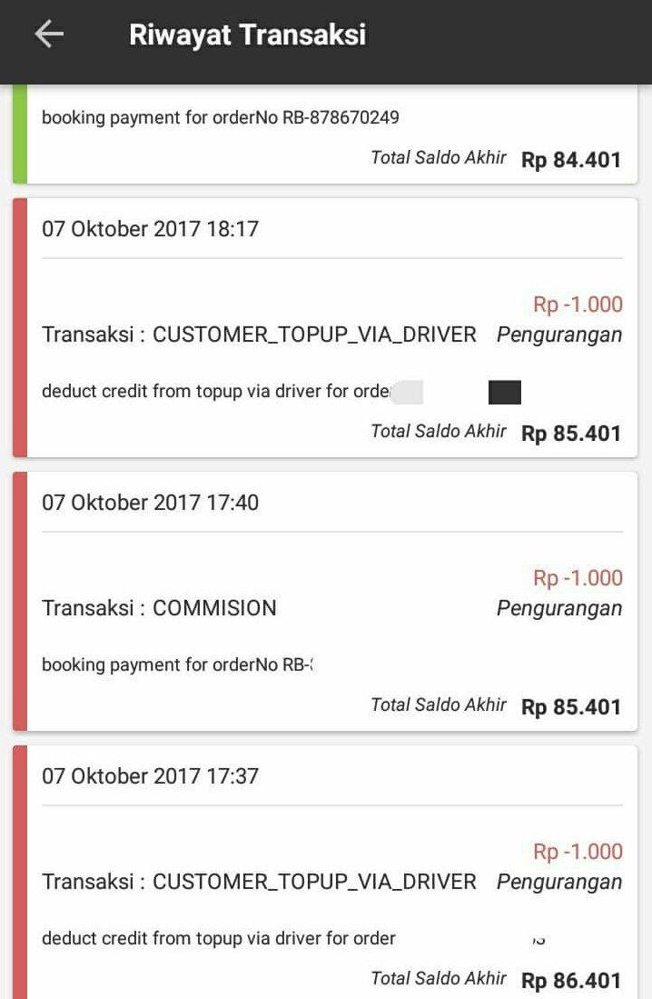 O Xrhsths Driver Gojek Ngalam Raya Sto Twitter Jangan Di Contoh Sayangi Akun Gojek Umak Nawak Jangn Top Up Gopay Tida Wajar Kaya Di Bawa Ini