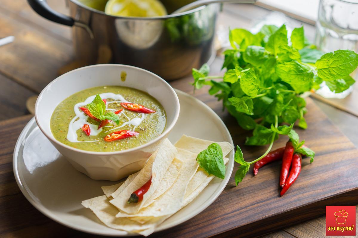 Суп пюре из овощей рецепт