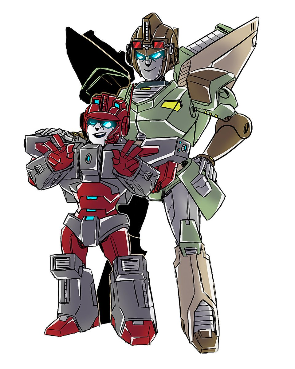 Anode & Lug for the #LostLightFest ~ QvQ #Transformers #LostLight #MTMTE