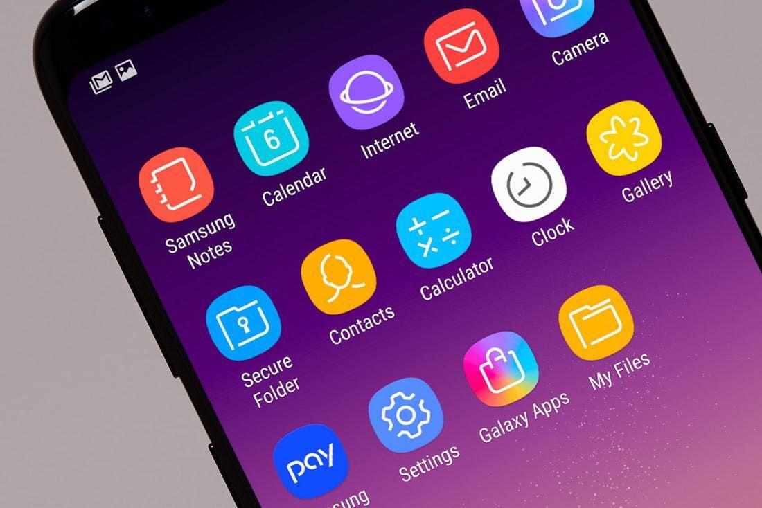 Samsung Galaxy S8 的 icon 设计。来自 Pentagram,世界上最大的独立设计工作室 #设计参考 https://t.co/Js7eHhAHkM https://t.co/zSd3ehnZiF 1