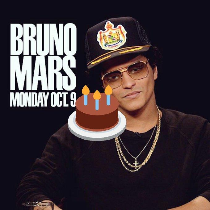 jaylik evans happy birthday Bruno  mars