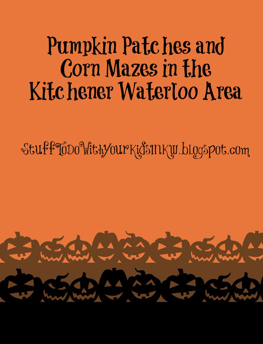 #PumpkinPatches & #CornMazes near #kwawesome #wrawesome  https://t.co/5e3NuJPH7L #Halloween #fall https://t.co/iVjXHFer72