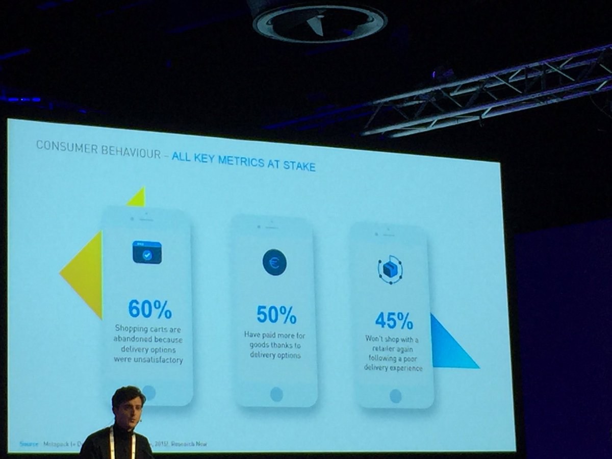 #Logistic at the core of the customer relationship  by @Stuart_Delivery  @#shoptalkeurope #france #echangeur #carrefour #zalando ...<br>http://pic.twitter.com/aM0XR7oMQ2