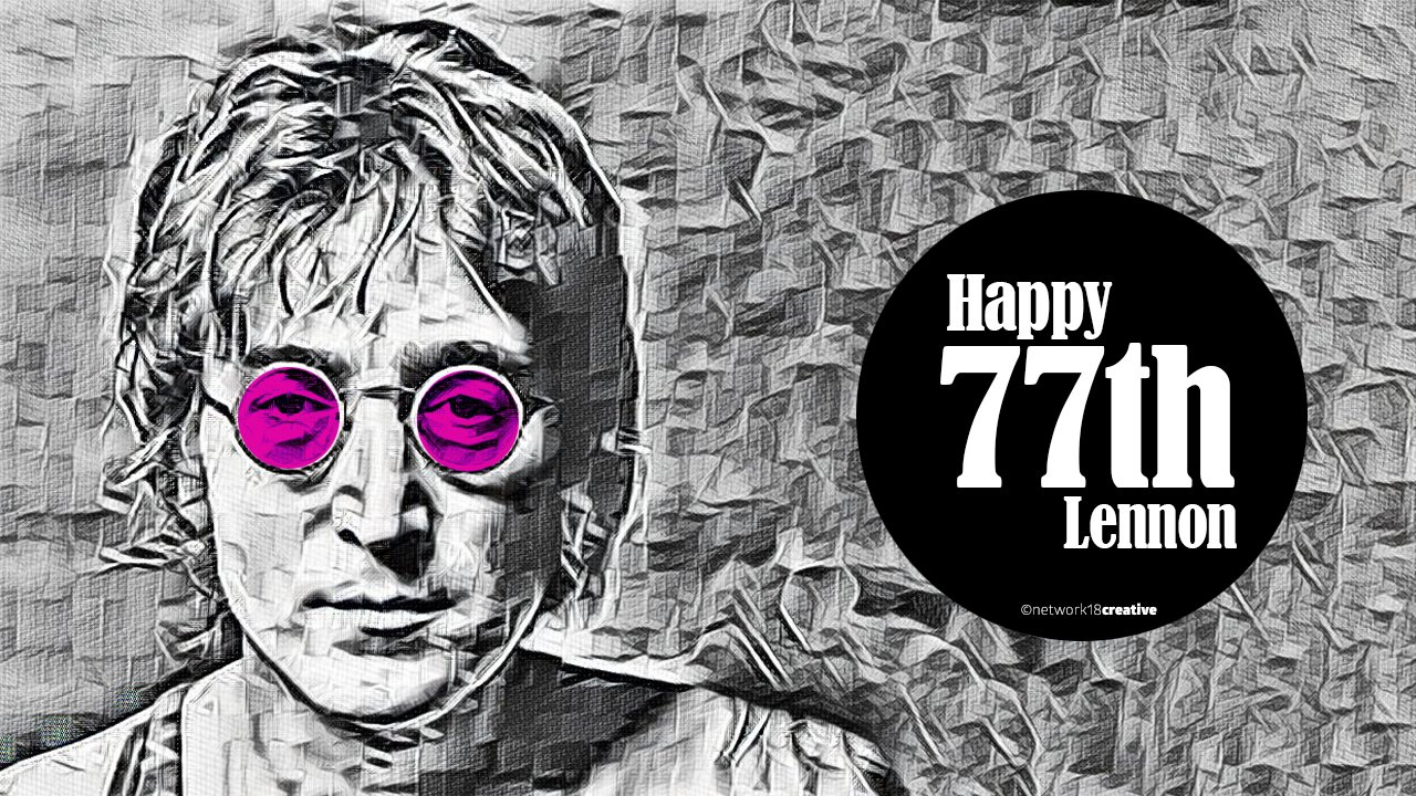 """A dream you dream alone is only a dream. A dream you dream together is reality\""  Happy Birthday, John Lennon!"