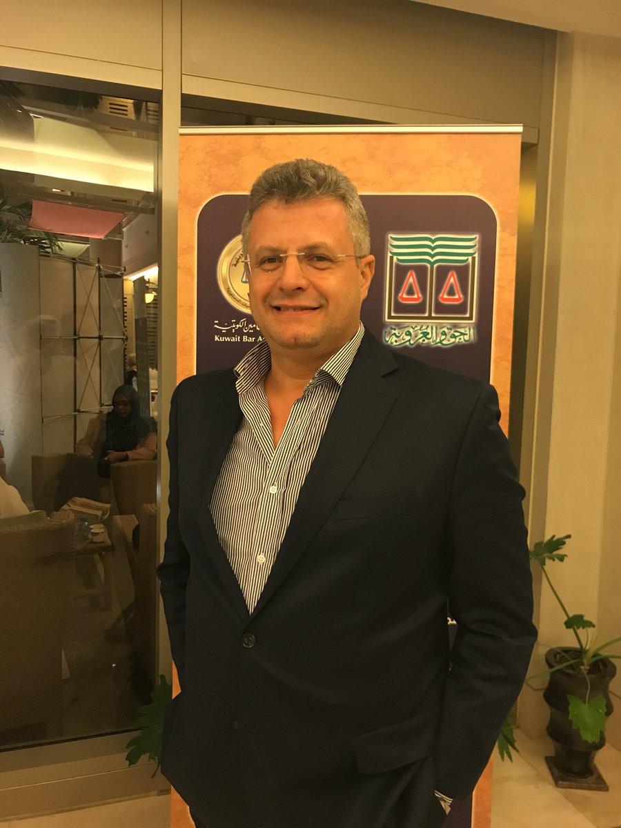 الأمين العام المساعد لأتحاد المحامين العرب الاستاذ / احمد شندبpic.twitter.com/lYgSQPMe4t