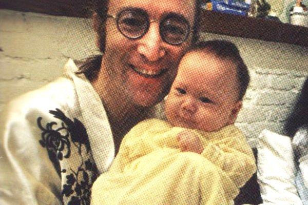 Happy Birthday To John Lennon & His Son Sean!! More Here: