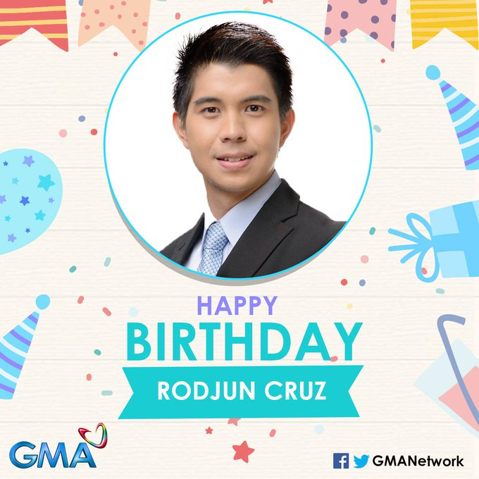 Happy birthday, Rodjun Cruz! We hope you have a great one!