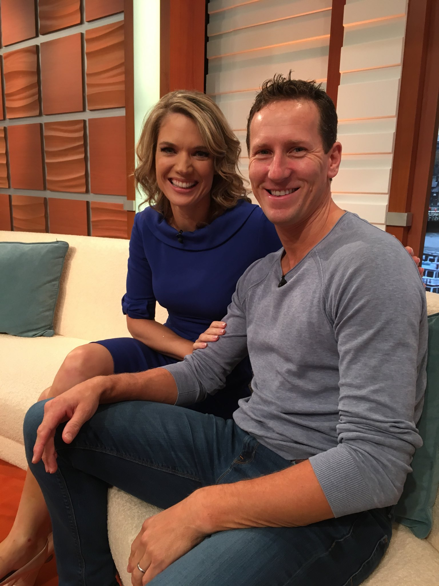 Bad boy @BrendanCole defending @CharlotteHawkns honour @gmb #Strictly https://t.co/hQnENF58v2