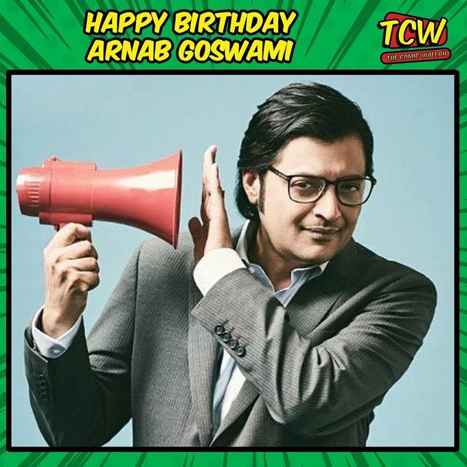 Happy birthday Arnab Goswami!